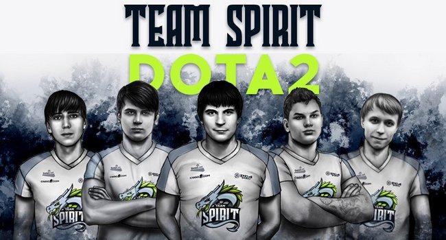 เปิดตัว Line up ใหม่แล้วสำหรับ Team Spirit